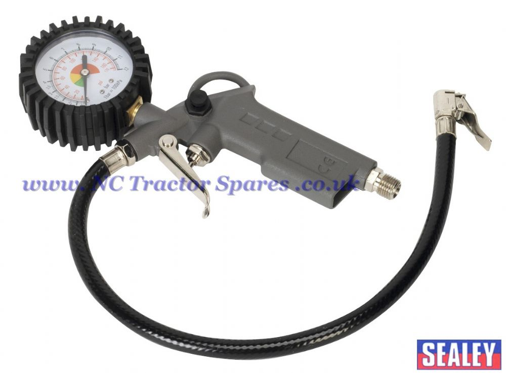 Tyre Inflator with Gauge.